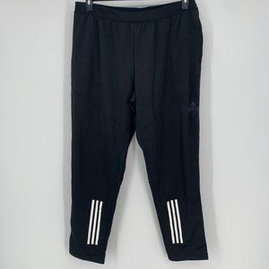Adidas Black Climawarm Athletic Pull On Pants 2XL